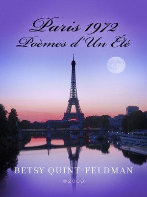 cover image of Paris 1972