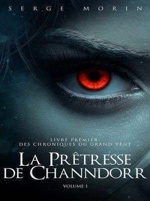 cover image of La Prêtresse de Channdorr