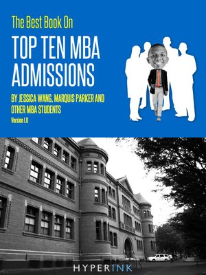 cover image of The Best Book on Top Ten Mba Admissions