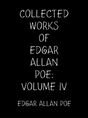 cover image of The Collected Tales of Edgar Allan Poe