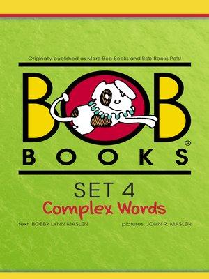 cover image of Bob Books Set 4