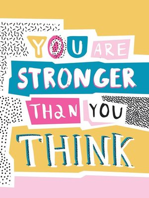 cover image of You Are Stronger Than You Think