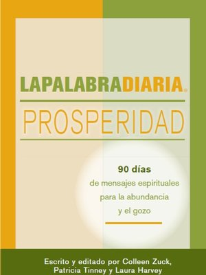 cover image of LAPALABRADIARIA Prosperidad