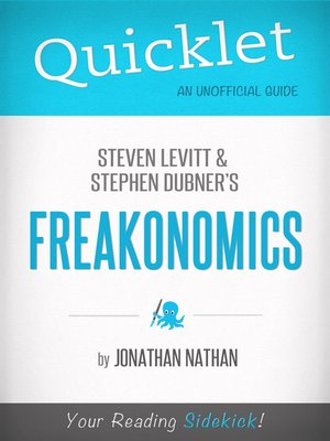cover image of Quicklet on Freakonomics by Stephen D. Levitt & Stephan J. Dubner