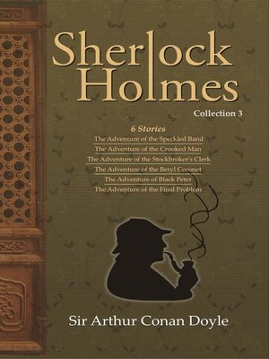 cover image of Sherlock Holmes, Collection 3