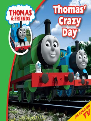cover image of Thomas' Crazy Day
