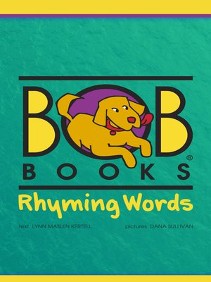 cover image of Bob Books Rhyming Words