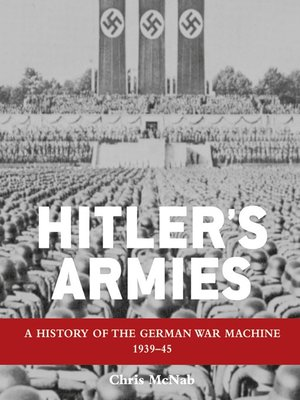 cover image of Hitler's Armies