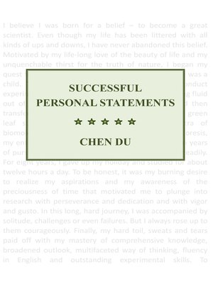 how to write a personal statement for cv