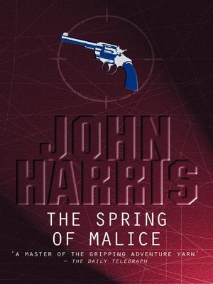 cover image of The Spring of Malice