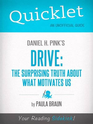 cover image of Quicklet on Daniel H. Pink's Drive