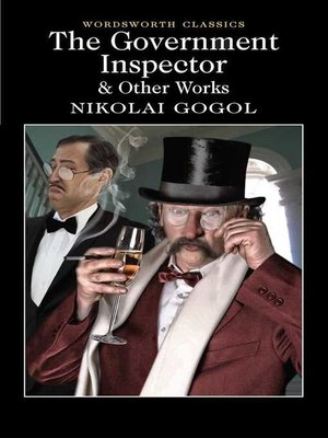 cover image of The Government Inspector and Other Works
