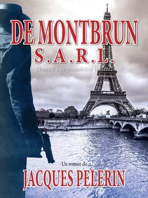 cover image of De Montbrun S.A.R.L.