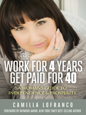 cover image of Work for 4 Years Get Paid for 40
