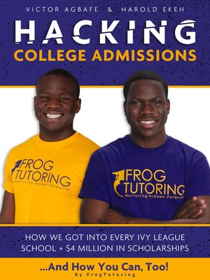 cover image of Hacking College Admissions