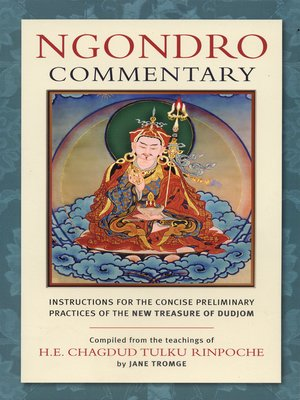 cover image of Ngondro Commentary