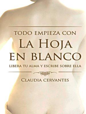 cover image of La hoja en blanco