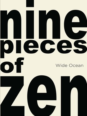 cover image of nine pieces of zen