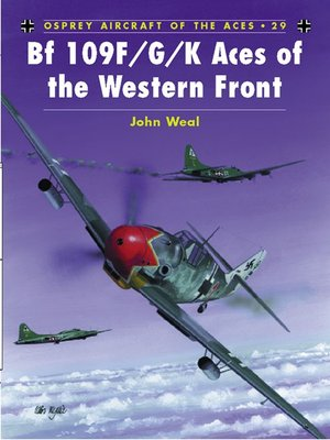 cover image of Bf 109 F/G/K Aces of the Western Front