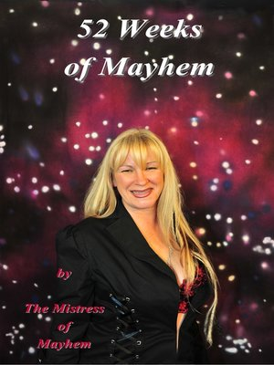"cover image of ""52 Weeks of Mayhem"""