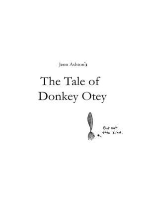 cover image of The Tale of Donkey Otey