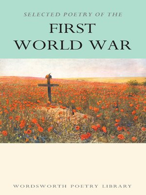 cover image of Selected Poetry of the First World War