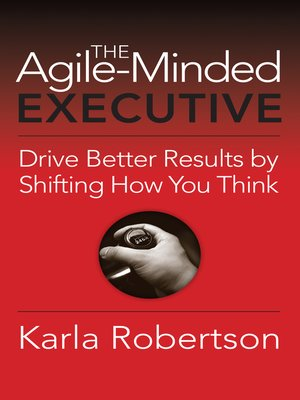 cover image of The Agile-Minded Executive