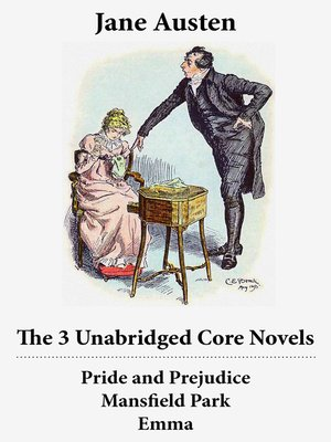 cover image of Pride and Prejudice, Mansfield Park, and Emma