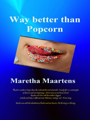 cover image of Way Better Than Popcorn