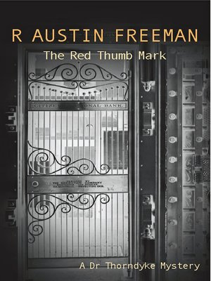 cover image of Red Thumb Mark