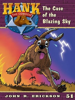 cover image of The Case of the Blazing Sky