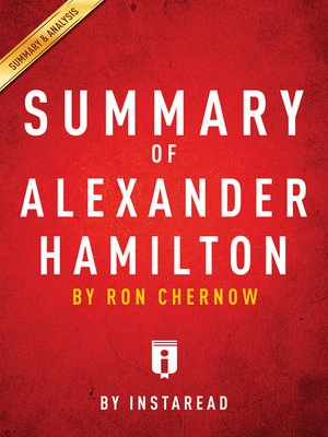 cover image of Summary of Alexander Hamilton
