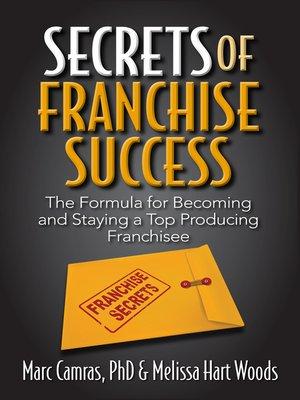 cover image of Secrets of Franchise Success