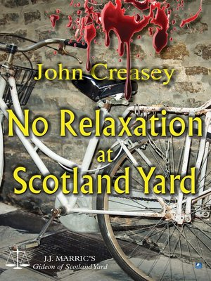 cover image of No Relaxation At Scotland Yard
