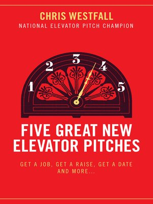 cover image of Five Great New Elevator Pitches