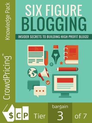 cover image of Six Figure Blogging