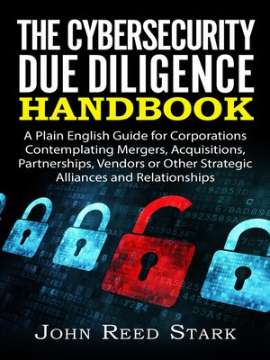 cover image of The Cybersecurity Due Diligence Handbook