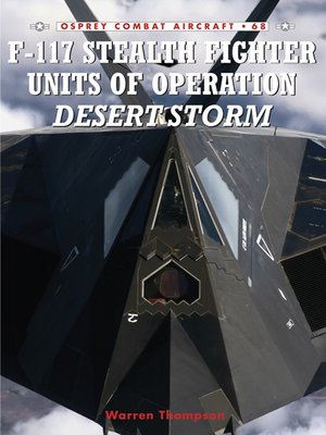 cover image of F-117 Stealth Fighter Units of Operation Desert Storm