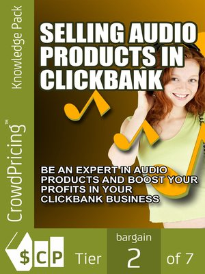 cover image of Selling Audio Products in Click bank