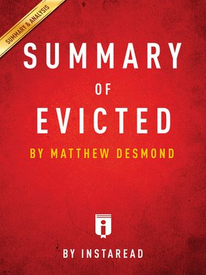 cover image of Summary of Evicted
