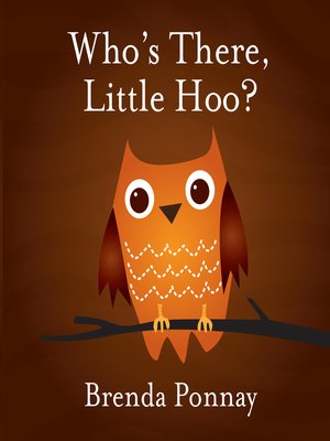 cover image of Who's There, Little Hoo?