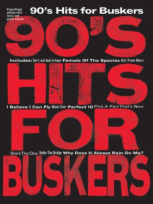 cover image of 90's Hits for Buskers