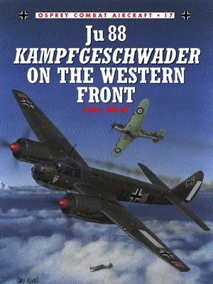 cover image of Ju 88 Kampfgeschwader on the Western Front