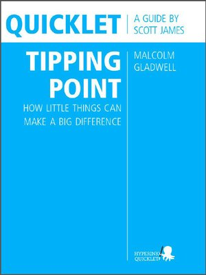 cover image of Quicklet on Malcolm Gladwell's the Tipping Point