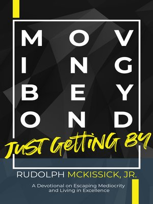 cover image of Moving Beyond Just Getting By