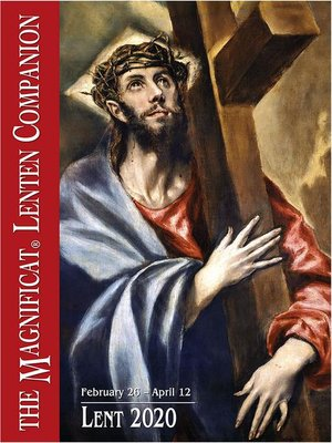 cover image of 2020 Magnificat Lenten Companion