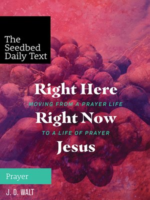 cover image of Right Here, Right Now, Jesus