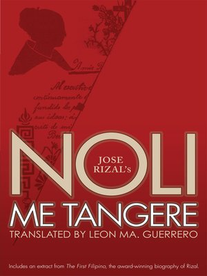 cover image of Noli Me Tangere