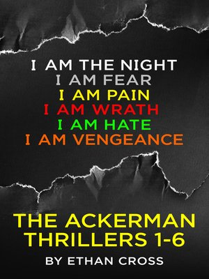 cover image of The Ackerman Thrillers Boxset