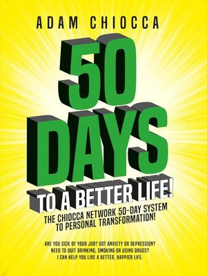 cover image of 50 Days to a Better Life!